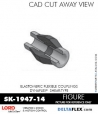 RUBBER-PARTS-CATALOG-DELTAFLEX-Vibration-Isolator-LORD-Dynaflex-Shear-Type-Couplings -Coupling-SK-1947-14