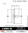 Rubber-Parts-Catalog-Delta-Flex-LORD-Flex-Bolt-Large-Sandwich-Mounts-J-5682-32