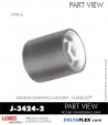 Rubber-Parts-Catalog-Delta-Flex-LORD-Flex-Bolt-Medium-Sandwich-Mounts-Femal-Female-J-3424-2