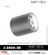 Rubber-Parts-Catalog-Delta-Flex-LORD-Flex-Bolt-Medium-Sandwich-Mounts-Femal-Female-J-3424-30