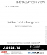 Rubber-Parts-Catalog-Delta-Flex-LORD-Flex-Bolt-Medium-Sandwich-Mounts-Male-Male-J-5425-15