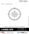 Rubber-Parts-Catalog-Delta-Flex-LORD-Flex-Bolt-Medium-Sandwich-Mounts-Femal-Female-J-5425-275