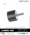 Rubber-Parts-Catalog-Delta-Flex-LORD-Flex-Bolt-Small-Sandwich-Mounts-J-4624-165