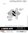 Rubber-Parts-Catalog-Delta-Flex-LORD-Flex-Bolt-Small-Sandwich-Mounts-J-4624-479