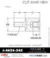 Rubber-Parts-Catalog-Delta-Flex-LORD-Flex-Bolt-Small-Sandwich-Mounts-J-4624-545