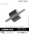 Rubber-Parts-Catalog-Delta-Flex-LORD-Corporation-Flex-Bolt-Small-Sandwich-Mounts-J-4624-616