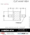 Rubber-Parts-Catalog-Delta-Flex-LORD-Corporation-Flex-Bolt-Small-Sandwich-Mounts-J-4624-616