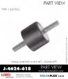 Rubber-Parts-Catalog-Delta-Flex-LORD-Corporation-Flex-Bolt-Small-Sandwich-Mounts-J-4624-618