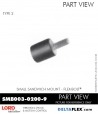 Rubber-Parts-Catalog-Delta-Flex-LORD-Flex-Bolt-Small-Sandwich-Mounts-SMB003-0200-9