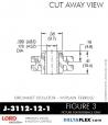 Rubber-Parts-Catalog-Delta-Flex-LORD-Corporation-Grommet-Isolators-with-Threaded-Ferrule-J-3112-12-1