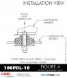 RUBBER-PARTS-CATALOG-DELTAFLEX-Vibration-Isolator-LORD-Corporation-PLATEFORM-MOUNT-SERIES-DIAMOND-100PDL-10
