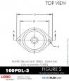 RUBBER-PARTS-CATALOG-DELTAFLEX-Vibration-Isolator-LORD-Corporation-PLATEFORM-MOUNT-SERIES-DIAMOND-100PDL-3