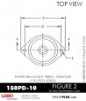 RUBBER-PARTS-CATALOG-DELTAFLEX-Vibration-Isolator-LORD-Corporation-PLATEFORM-MOUNT-SERIES-DIAMOND-150PD-10RUBBER-PARTS-CATALOG-DELTAFLEX-Vibration-Isolator-LORD-Corporation-PLATEFORM-MOUNT-SERIES-DIAMOND-150PD-10