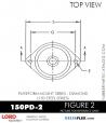 RUBBER-PARTS-CATALOG-DELTAFLEX-Vibration-Isolator-LORD-Corporation-PLATEFORM-MOUNT-SERIES-DIAMOND-150PD-2
