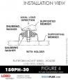 RUBBER-PARTS-CATALOG-DELTAFLEX-Vibration-Isolator-LORD-PLATEFORM-MOUNT-SERIES-HOLDER-150PH-30