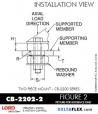 Rubber-Parts-Catalog-Delta-Flex-LORD-Corporation-Two-piece-mount-cb-2200-series-CB-2202-2