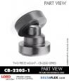 Rubber-Parts-Catalog-Delta-Flex-LORD-Corporation-Two-piece-mount-cb-2200-series-CB-2205-1