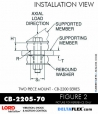 Rubber-Parts-Catalog-com-LORD-Corporation-Two-Piece-Center-Bonded-Mount-CB-2200-Series-cb-2205-70