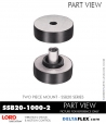 Rubber-Parts-Catalog-Delta-Flex-LORD-Corporation-Two-Piece-Mount-SSB26-1000-2