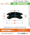 Rubber Grommet | Mil-Spec | MS35489-1