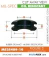 Rubber Grommet | Mil-Spec - MS35489-10