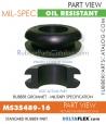 MS35489-16   Rubber Grommet   Mil-Spec