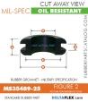 MS35489-25 Rubber Grommet | DeltaFlex