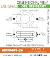 MS35489-26 Rubber Grommet | DeltaFlex