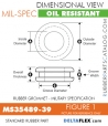 MS35489-39 | Rubber Grommet | Mil-Spec