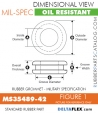 MS35489-42 | Rubber Grommet | Mil-Spec