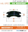 Rubber Grommet | Mil-Spec - MS35489-5