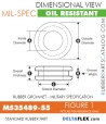 MS35489-551 | Rubber Grommet | Mil-Spec
