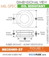 MS35489-57 | Rubber Grommet | Mil-Spec