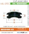 MS35489-63 | Rubber Grommet | Mil-Spec