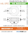 Rubber Grommet | Mil-Spec - MS35489-9