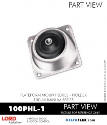 RUBBER-PARTS-CATALOG-DELTAFLEX-Vibration-Isolator-LORD-PLATEFORM-MOUNT-SERIES-HOLDER-100PHL-1